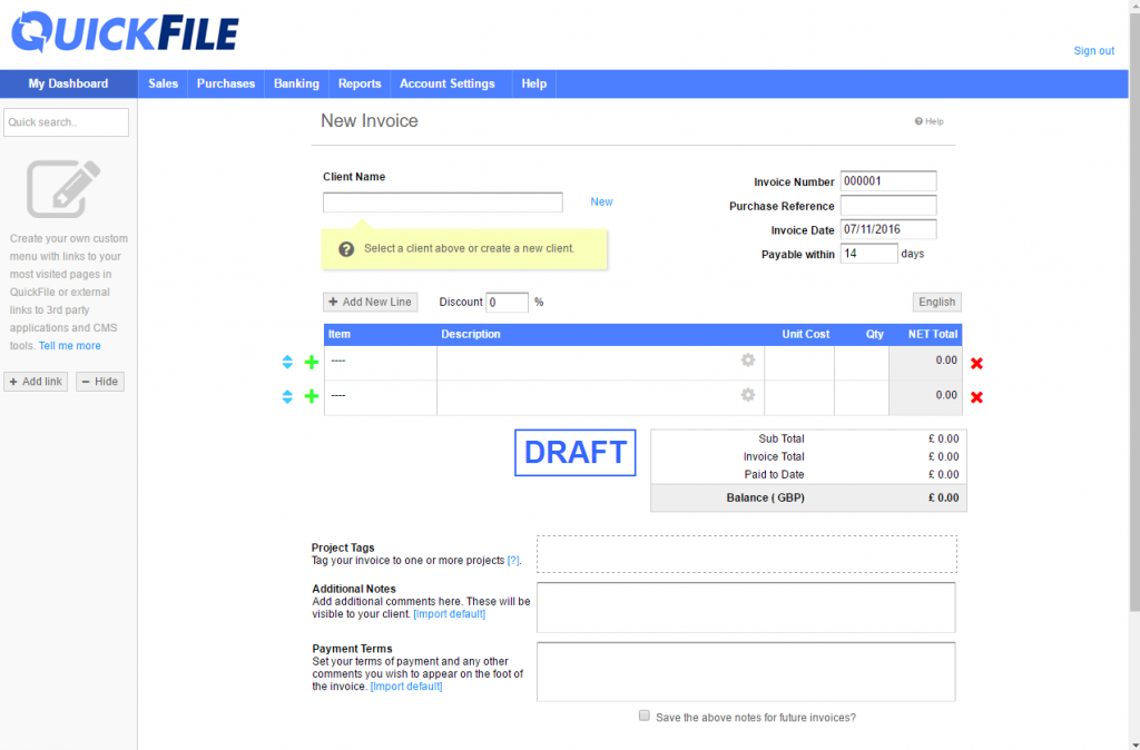 Quickfile Software Review