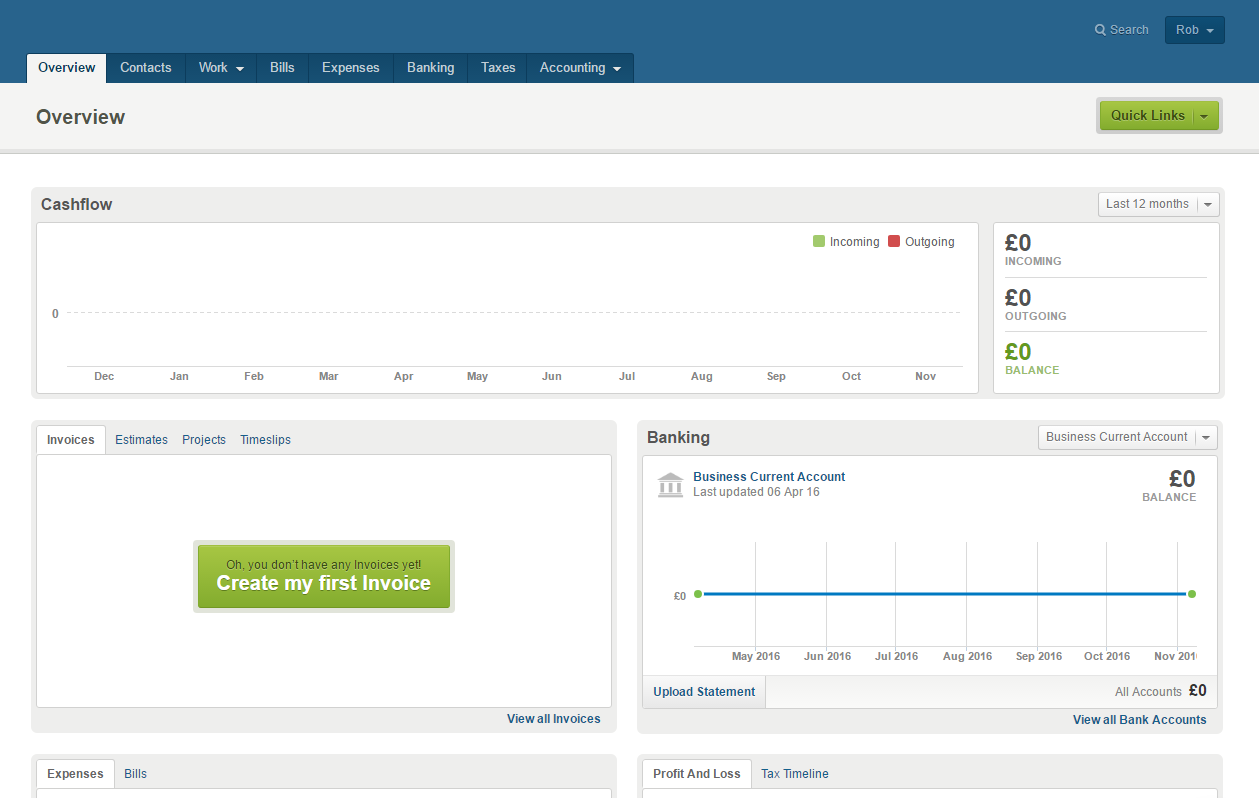 Freeagent Review - Accounting Software